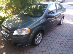 2009 Chevy Aveo L.T only 46kms!!!