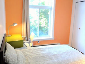 TOP CHOICE! CLEAN, BRIGHT! ALL INCLUSIVE! FURNISHED ROOM RENTAL!