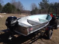 Boat and motor package