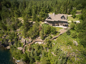 REDUCED PRICE! Absolutely stunning private home on Oliver Lake
