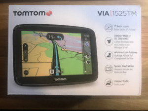 "TomTom VIA 1525 5"" Portable Navigation GPS Device"