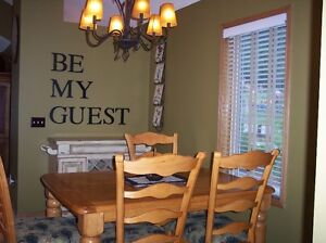 """""""Be My Guest"""" Word Art"""