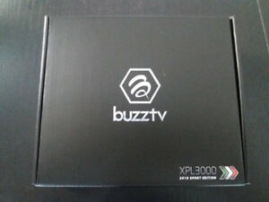 """BUZZ TV 4K ANDROID  *SPORTS EDITION*  2018 MODEL """"RED COLOUR"""""""