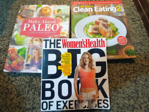 Exercise and cook books *New*