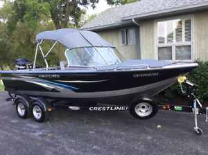 2015 Crestliner 2050 Authority length 20'10""