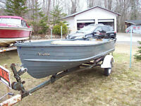 Boat, Motor and Trailer Package