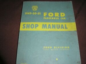 49-50-51 Ford Shop Manual London Ontario image 1