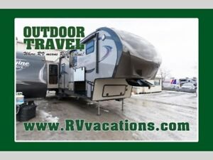2014 Prime Time RV Crusader 351REQ