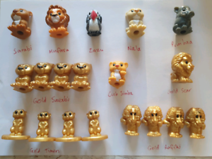 Lion King ooshies Swap for Coles little shop