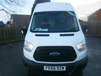 Ford Transit T350 L3 High Roof 2.2 Tdci 125Ps H3 Van DIESEL MANUAL WHITE (2016)