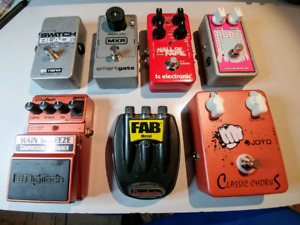 Guitar Effect Pedals, Sell or Trade