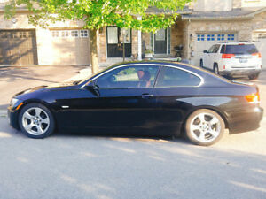 BMW 328i   2008  COUPE   RED LEATHER INTERIOR  SUNROOF 