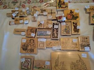 New & gently used rubber art stamps for sale Kawartha Lakes Peterborough Area image 2