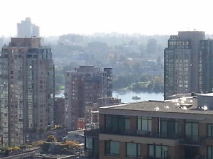 Heart of Yaletown Unfurnished 1 bed, den, and parking with view