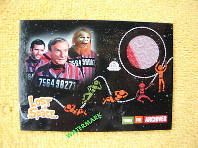 Lost in Space 2005 Rittenhouse Costume Card DUAL COLOR Jonathan Harris