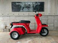 2008 JDM Honda Gyro X 3-wheel tilting scooter
