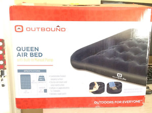 BRAND NEW Outbound Queen Air Bed