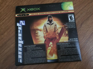 Jeu XBOX Amped2/ Top Spin