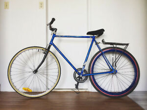 Fixed Gear Bike 55 cm (Also, I think it's a flip-flop!)
