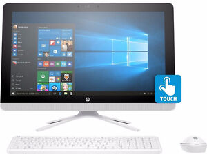 "HP All-in-One 22"" IPS TouchScreen Computer 8GB Intel Pentium 1TB"
