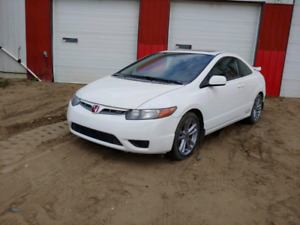 2008 Honda Civic SI Coupe Manual
