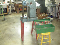 Broach press with broaches