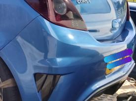 Vauxhall Corsa D VXR rear bumper in Arden Blue pre-facelift