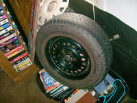 GOOD SPARE TIRE AND RIM FOR CAVALIER 195/R70/14