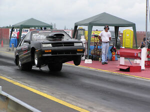 1992 DODGE SHADOW SUPER PRO DRAG CAR