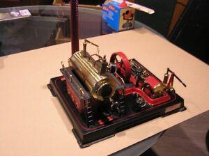 Wilesco D21 Steam Engine c/w accessories