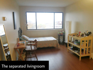 Fully Furnished Separated Living Room - Female Only