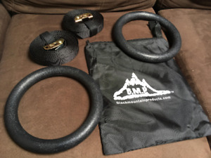 Exercise rings rated to 1200 lbs