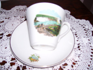 Myott Souvenir Cup and Saucer of Niagara Falls