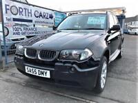 BMW X3 D SPORT 2005 Diesel Manual in Black