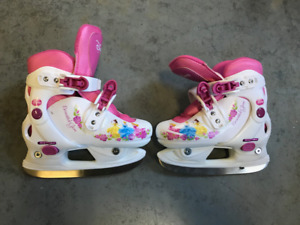 Girl's Disney Princess Adjustable Ice Skates
