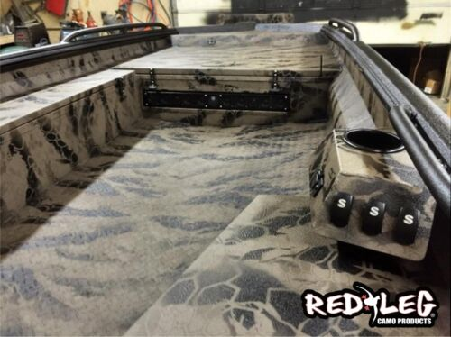 Redleg Camo ™ DSEPTA © 2 piece duck boat camo stencil kit