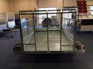 LOWEST PRICE EVER!!!!!8*5 BOX CAGE TRAILER with RAMP $1799 Wetherill Park Fairfield Area Preview