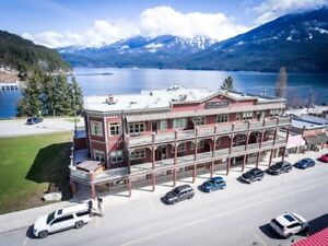 Boutique Hotel for sale in Kaslo BC!