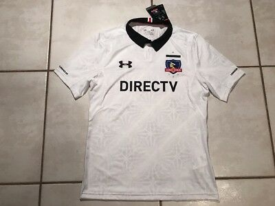 NWT UNDER ARMOUR COLO-COLO  Chile 2016/2017 Soccer Jersey Men's Large image