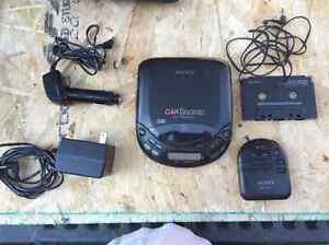 Sony Car Discman D-822K kit Kawartha Lakes Peterborough Area image 1