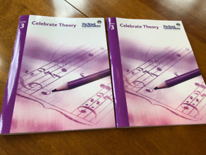 RCM Level 3 Piano - Celebrate Theory book (2016)