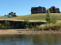 Build A Dream Home on a Lake Front Property at Little Bow Resort