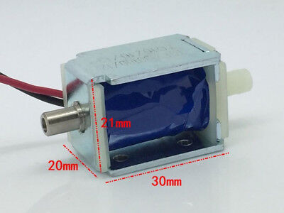 Dc12v Mini Electric Dc Solenoid Valve Nc Normally Closed For Gas Air Pump Valve