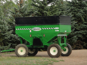 Bruns Gravity Grain Cart