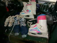 girls go girl skates size 10/11,and angel skates size  8/9