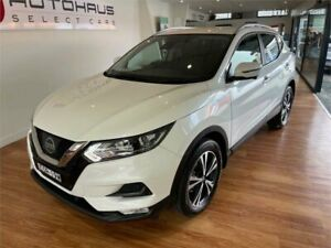 2018 Nissan Qashqai J11 MY18 ST-L White Continuous Variable Wagon