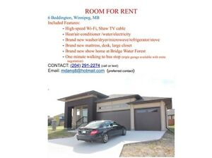 BRAND NEW ROOM FOR RENT
