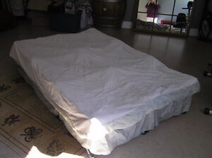 blow up bed frame legs and mattress cover