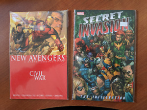 NEW AVENGERS CIVIL WAR & SECRET INVASION TPB