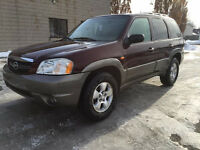 2001 MAZDA TRIBUTE 4X4 AUTOMATIC